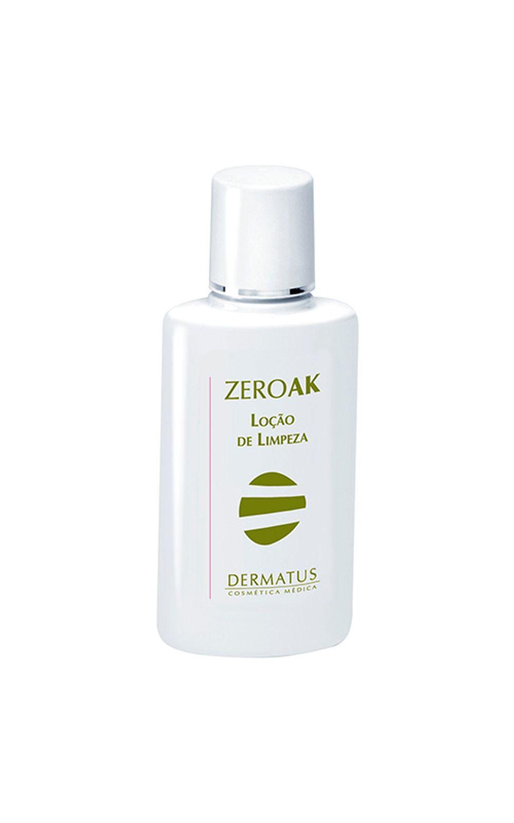 Foto 1 - ZeroAK Loção de Limpeza Dermatus - Tratamento Desobstrutor de Poros - 120ml
