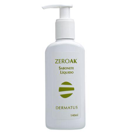 ZeroAK Sabonete Líquido Dermatus - Tratamento Antiacne - 140ml