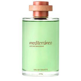 Frasco do Perfume Masculino Mediterraneo Eau de Toilette Antonio Banderas