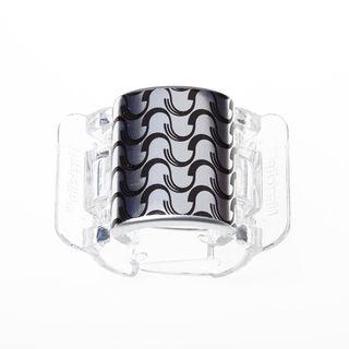 core-linziclip-prendedor-para-os-cabelos-core-silver-metallic-wave