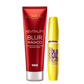kit-revitalift-blur-loreal-paris-the-colossal-volum--express-maybelline-aperfeicoador-da-pele-mascara-para-cilios