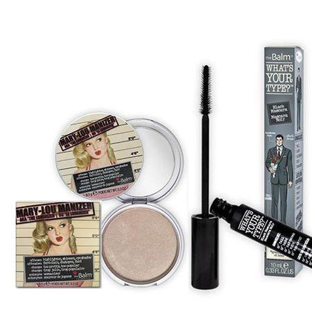 Mary Lou Manizer + Whats your type The Balm - Kit Iluminador Facial + Máscara...