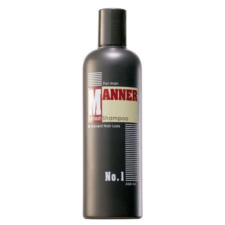 N.P.P.E. Manner Refresh - Shampoo de Limpeza Profunda - 360ml