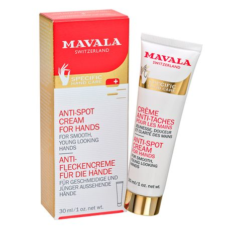 Creme Rejuvenescedor para Mãos Mavala Anti-Spot Cream for Hands - 30ml
