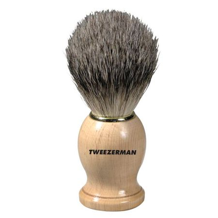 G.E.A.R. Deluxe Shaving Brush Tweezerman - Pincel de Barbear - 1 Un