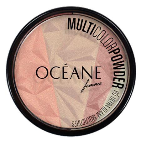 Multicolor Powder Ultra Glam Océane - Pó Facial - Multicolor