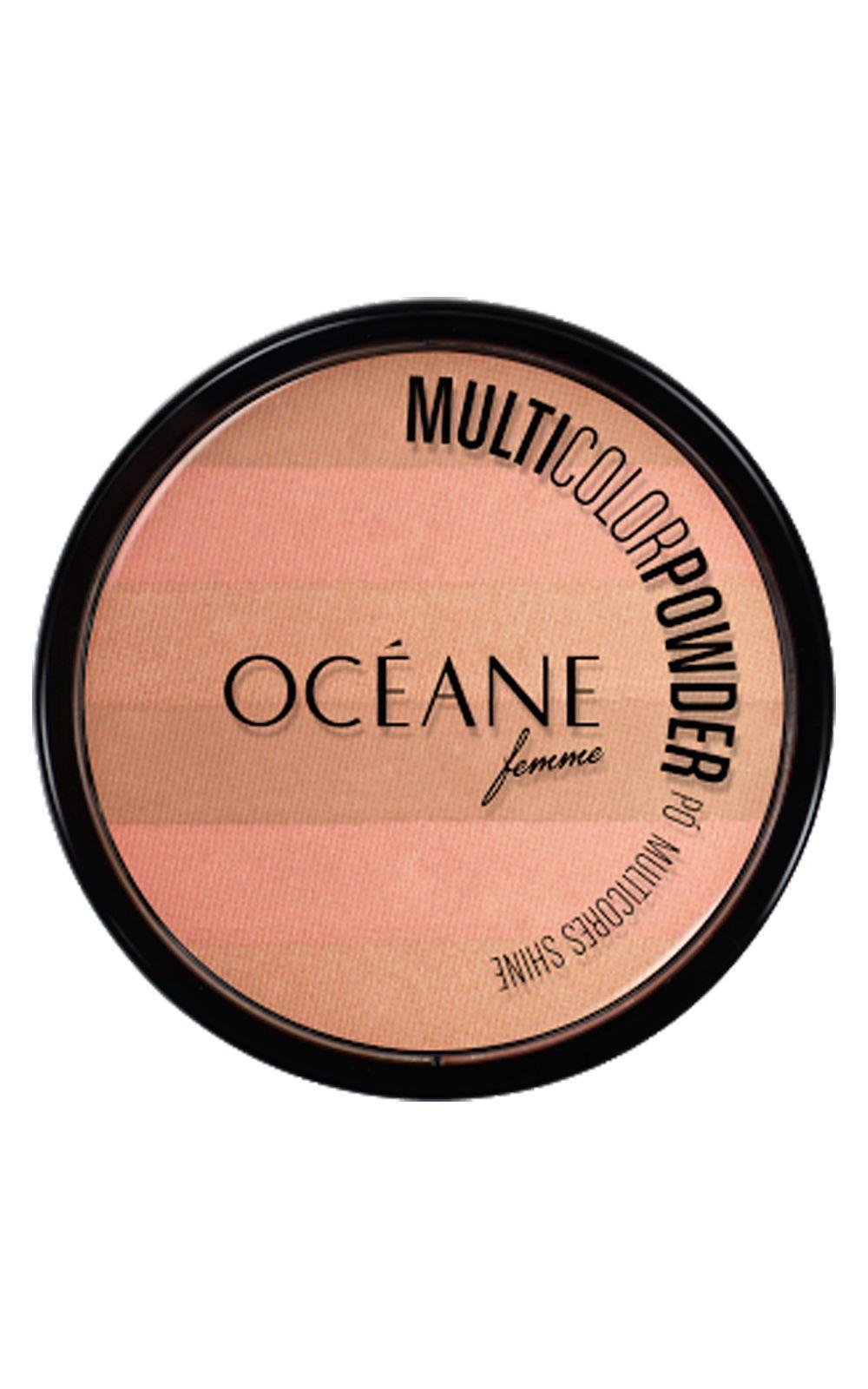 Foto 1 - Multicolor Powder Shine Océane - Pó Facial - Multicolor