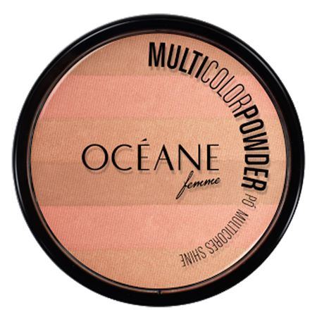 Multicolor Powder Shine Océane - Pó Facial - Multicolor