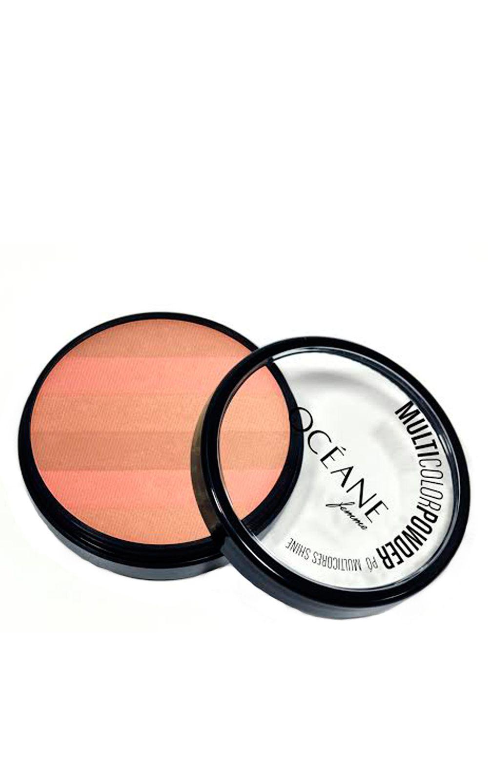 Foto 2 - Multicolor Powder Shine Océane - Pó Facial - Multicolor