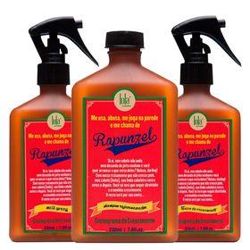 rapunzel-lola-cosmetics-kit-shampoo-fortalecedor-230ml-tratamento-antiqueda-230ml-leave-in-230ml