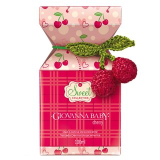 Sweet Collection Cherry Deo Colônia Giovanna Baby - Perfume 100ml - COD. 030905