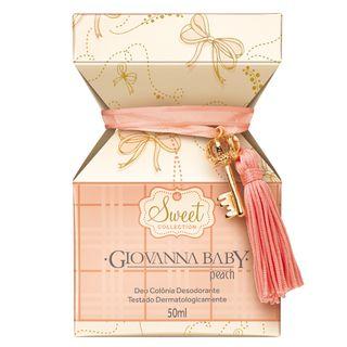 Sweet Collection Peach Deo Colônia Giovanna Baby - Perfume 50ml - COD. 030908