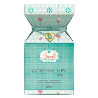 Sweet Collection Candy Deo Colônia Giovanna Baby - Perfume 100ml - COD. 030903
