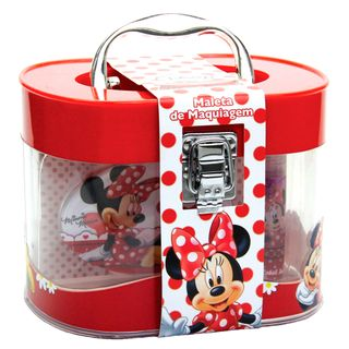 Maleta de Maquiagem Disney Minnie Beauty Brinq - Maquiagem Infantil Kit - COD. 030814