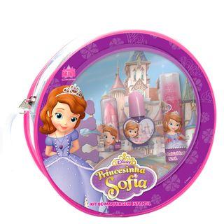 Bolsa de Maquiagem Disney Princesinha Sofia Beauty Brinq - Maquiagem Infantil Kit - COD. 030810