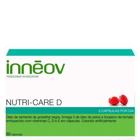 Nutri-Care D Innéov - Fortalecedor de Cabelo - 60 Cáps