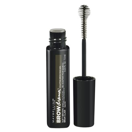Brow Drama Maybelline - Máscara de Sobrancelhas - Soft Brown