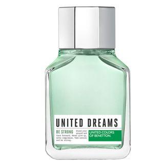 United Dreams Be Strong Eau de Toilette Benetton - Perfume Masculino 100ml - COD. 031244