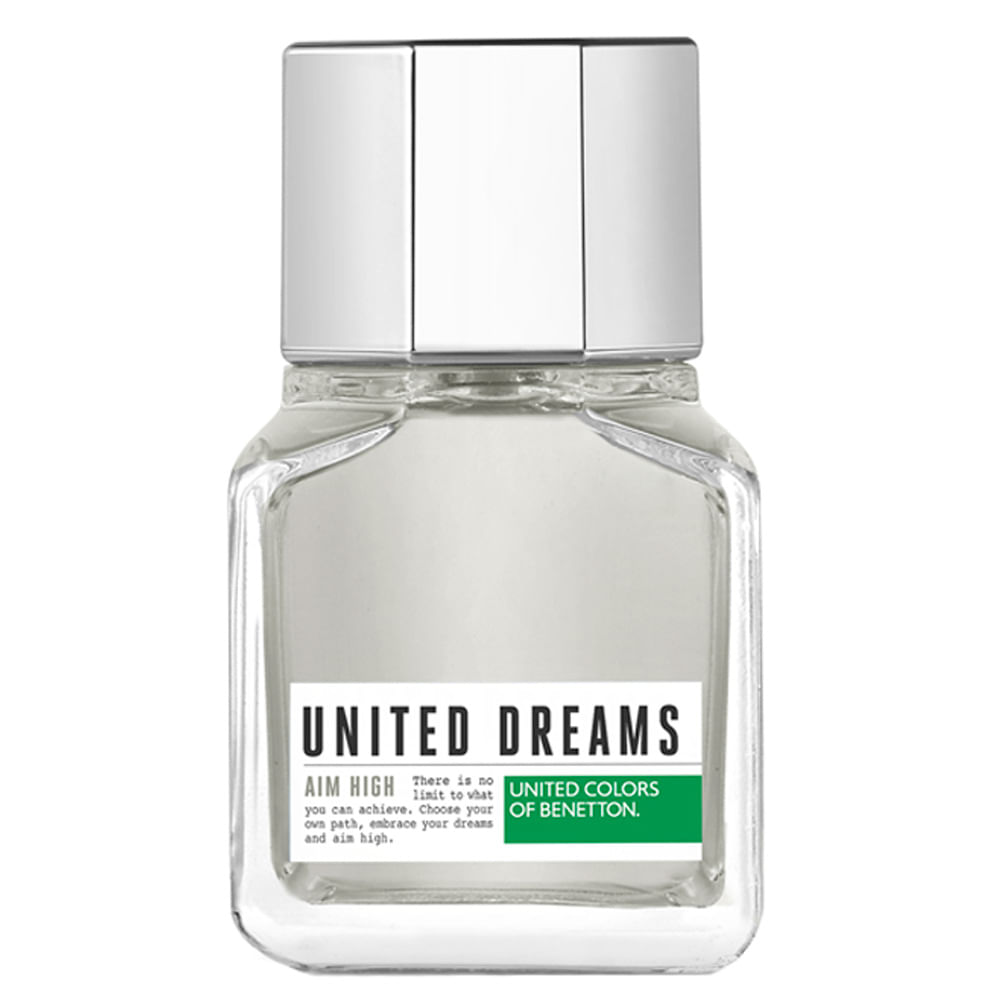 4bdad3c47 Perfume United Dreams Aim High Benetton Masculino - Época Cosméticos