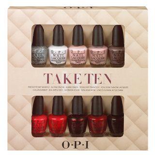 Take Ten O.P.I - Kit de Esmaltes 10X3,75ml - COD. 031133
