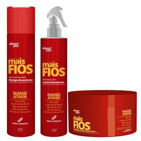 mais-fios-about-you-kit-shampoo-300ml-protetor-termico-300ml-mascara-250g