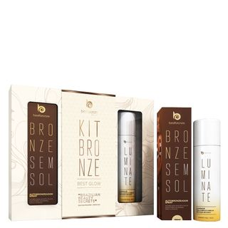 kit-bronzer-best-glow-autobronzeador-spray-100ml-iluminador-luminate-100g