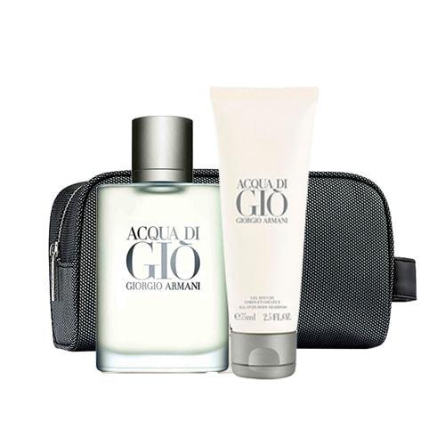 Acqua Di Giò Homme Eau de Toilette Giorgio Armani Kit - Perfume + ... 9b4984c1a6