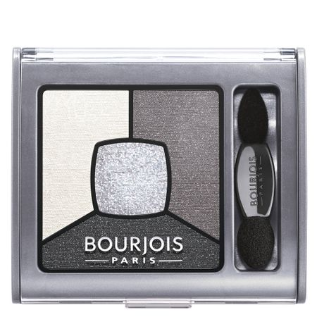 Smoky Stories Bourjois - Paleta de Sombras - 01 - Grey e Night