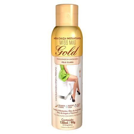 Meia Calça Instantânea 150ml Gold Nylons - Spray Bronzeador - Clara