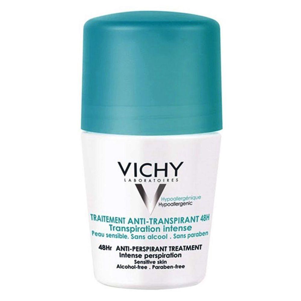 a7b93a571 Época Cosméticos · Dermocosméticos · Desodorantes.  traitement-anti-transpirant-48h-vichy-desodorante-roll- ...