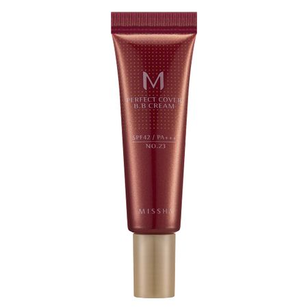 M Perfect Cover BB Cream 10ml Missha - Base Facial - 23 - Natural Beige