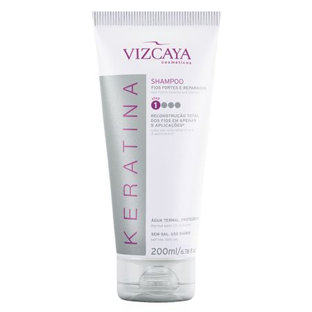 Vizcaya Keratina - Shampoo Reconstrutor - 200ml