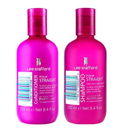 Kit Shampoo + Condicionador Lee Stafford Pocker Straight - Kit