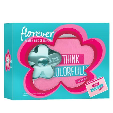 Florever Agatha Ruiz de la Prada - Feminino - Eau de Toilette - Perfume +...