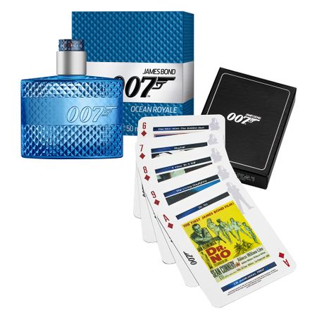 Ocean Royale James Bond - Masculino - Eau de Toilette - Perfume + Jogo de...