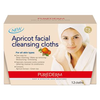 apricot-facial-cleansing-cloths-purederm-lenco-de-limpeza-facial