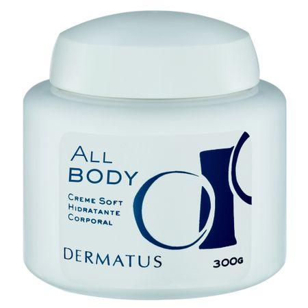 All Body Creme Soft Dermatus - Hidratante Corporal - 300g