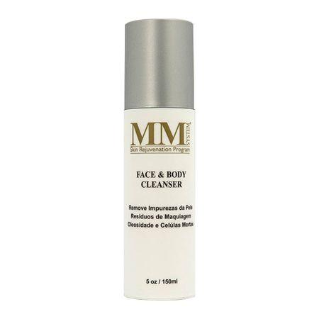 Face & Body Cleanser M&M - Higiene Facial e Corporal para Pele Oleosa a Acneica...