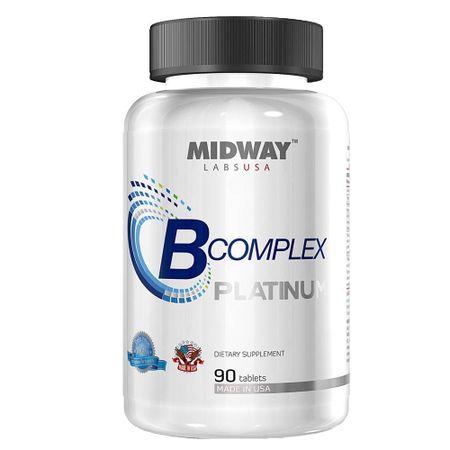 B Complex Midway - Suplemento à Base de Vitaminas - 90 Cáps