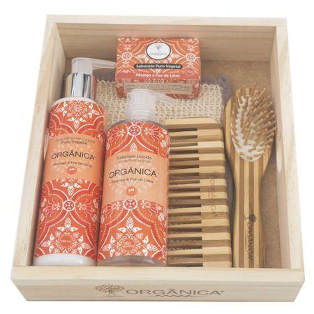 Banho Natural Orgânica - Kit - Kit