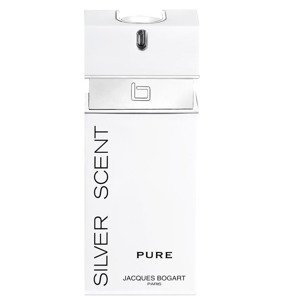 2fa29836b Perfume Silver Scent Pure Jacques Bogart Masculino - Época Cosméticos