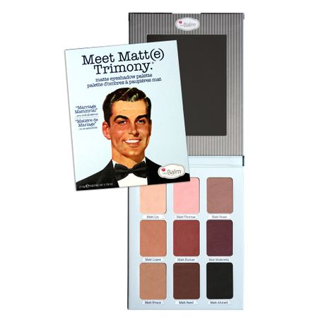 Meet Matt(e) Trimony The Balm - Paleta de Sombras - 1 Un
