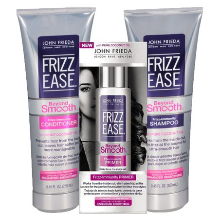 Kit Shampoo + Condicionador + Primer John Frieda Frizz Ease Beyond Smooth Frizz...
