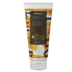 cha-branco-korres-creme-corporal-extra-hidratante-200ml