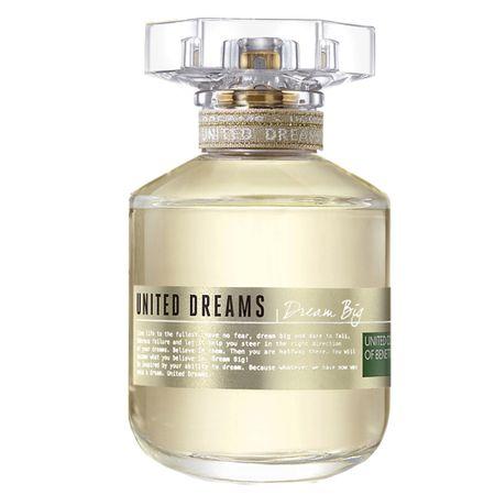 Dream Big Benetton - Perfume Feminino - Eau de Toilette - 80ml