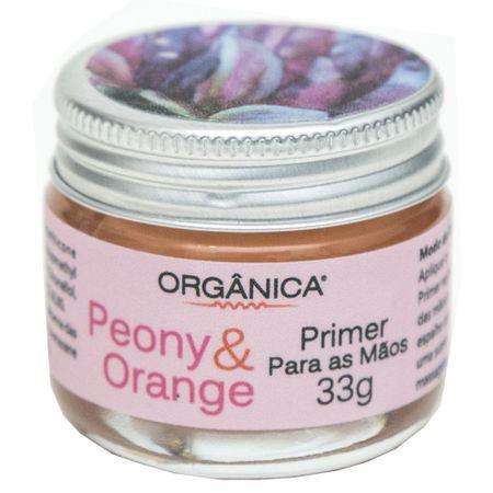 Hidratante para as Mãos Orgânica Primer Peony e Orange - 33g