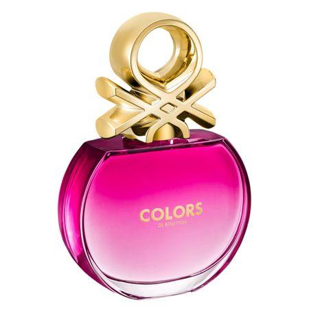 Colors Pink Benetton - Perfume Feminino - Eau de Toilette - 80ml