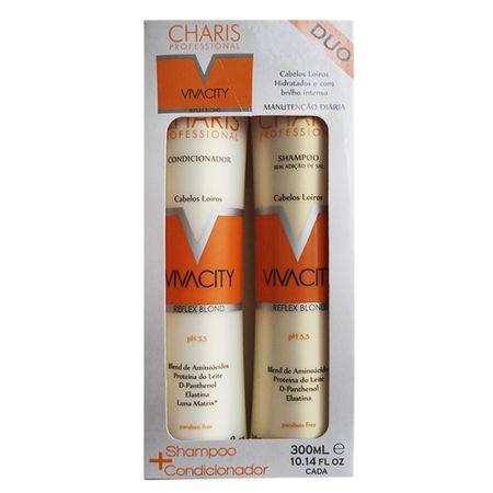 Kit Shampoo + Condicionador Charis Vivacity - Kit