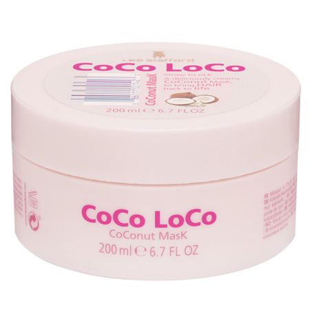 Lee Stafford Coco Loco Coconut Mask - Máscara Capilar - 200ml