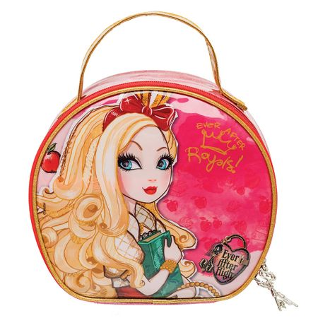 Maleta PVC Redonda Apple White Ever After High Ricca - 1 Un